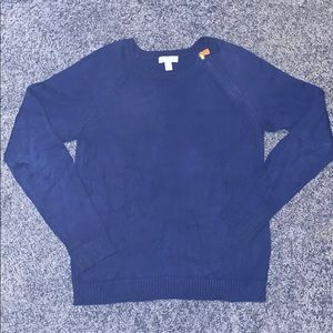 Blue charter club sweater